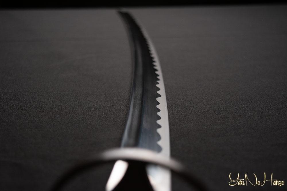 Lightweight steel iaito practice sword
