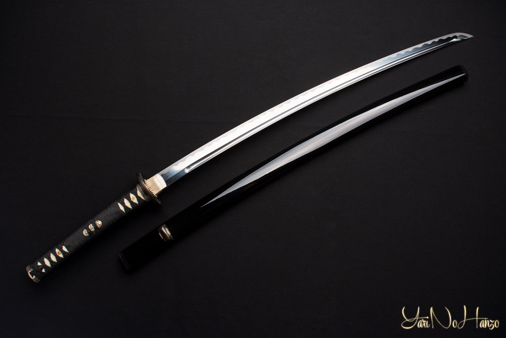 Lightweight steel iaito practice sword