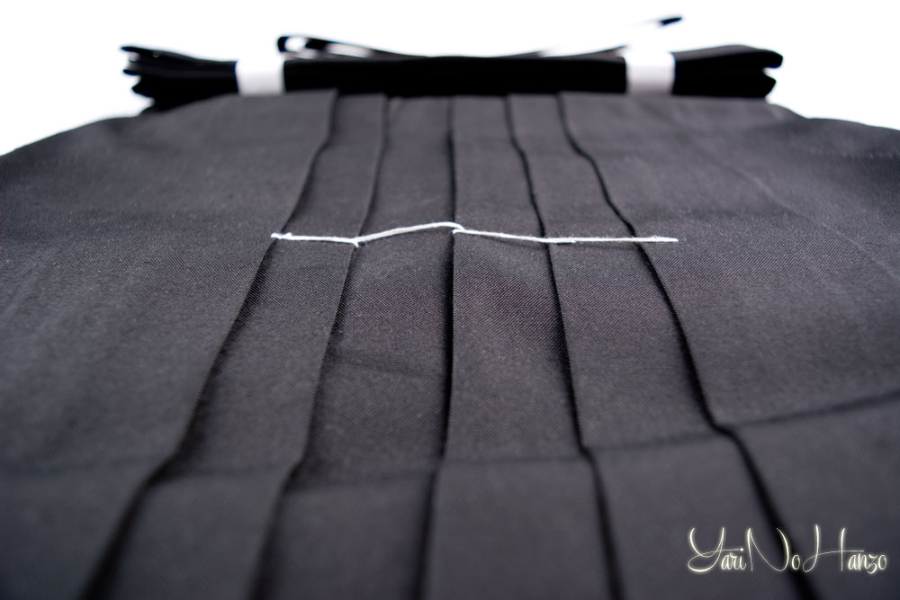 how to wear hakama kendo