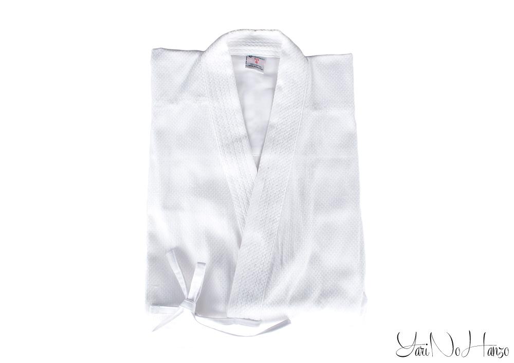 giacca kendo bianca