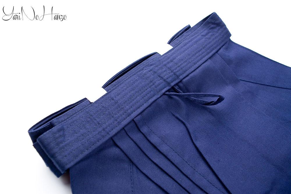 indigo dyed hakama