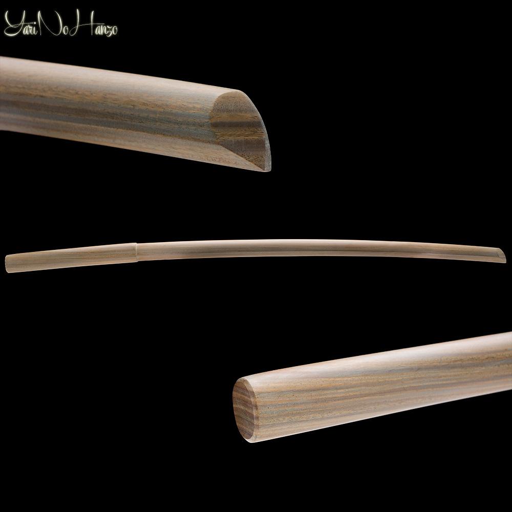 Itto Ryu Bokken Lignum Vitae | Ironwood Bokuto Daito | Handmade Bokken