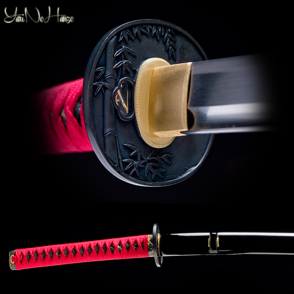 Minamoto Katana | Iaito Practice sword | Handmade Samurai Sword