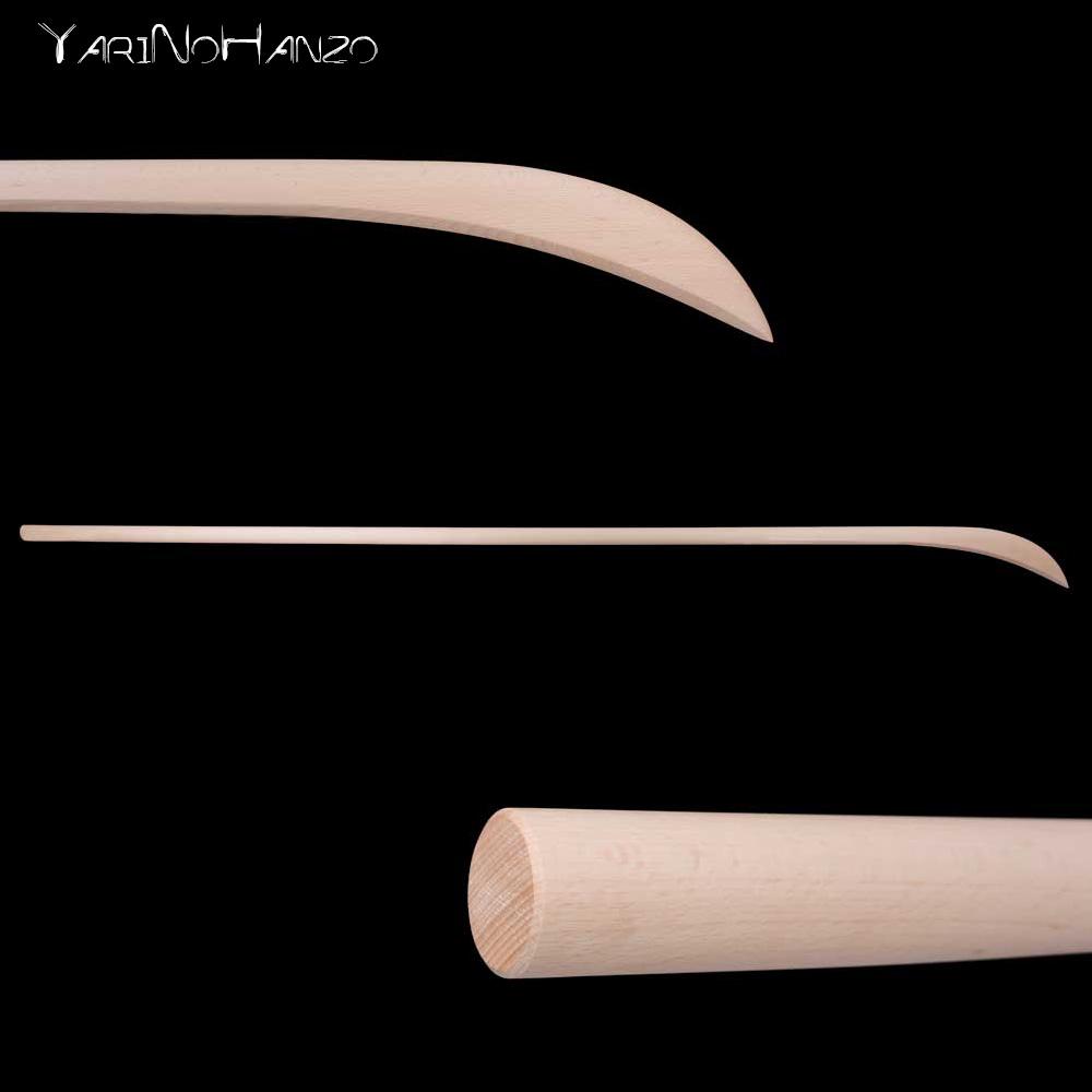 NEW Katori Naginata Beech wood | Handmade wooden Naginata