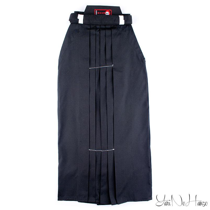 Hakama Black | Aikido-Iaido Hakama | Polyester Hakama