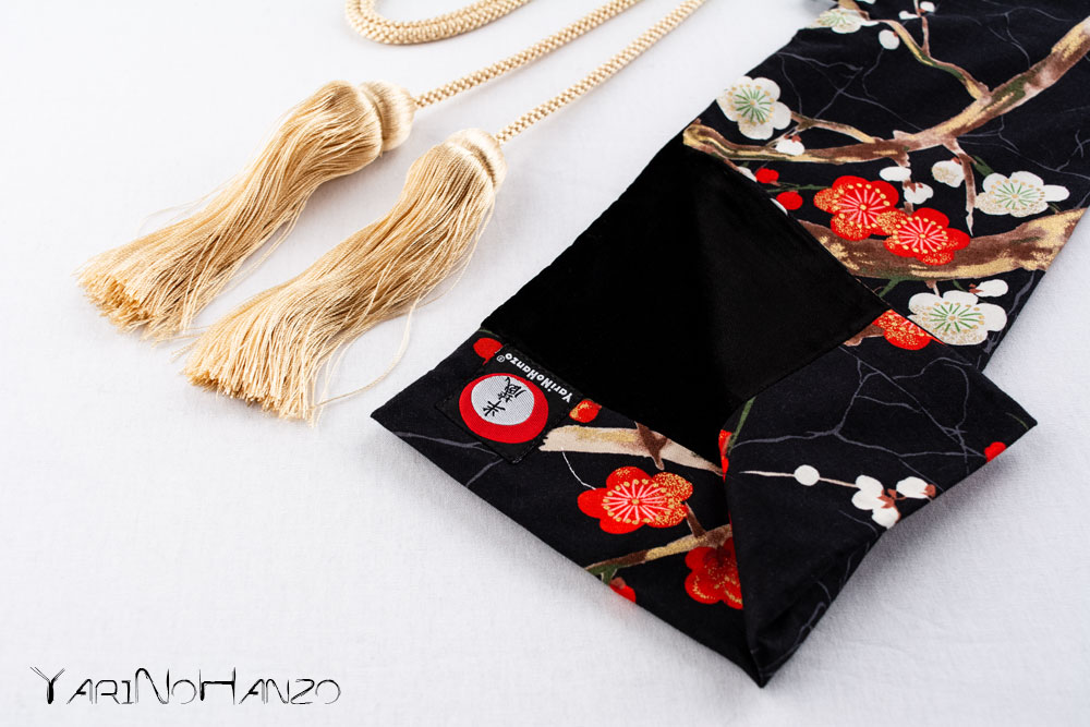Katana Bukuro Sakura | Bag for Nihonto Katana and Iaito | Top quality Katana bag