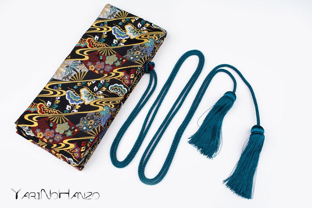 Katana Bukuro Sensu | Bag for Nihonto Katana and Iaito | Top quality Nishijin Katana bag