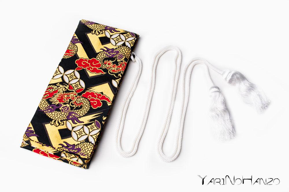 Katana Bukuro Ryujin | Bag for Nihonto Katana and Iaito | Top quality Nishijin Katana bag