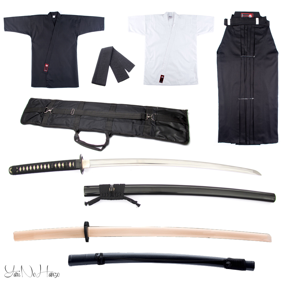 Performance Iaido Set | Iaido Gi + Hakama + lightweight Iaito set