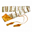Silk bag gold for Katana and Iaito | Silk sword bag for Samurai Sword