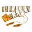 Silk bag gold for Katana and Iaito | Silk sword bag for Samurai Sword