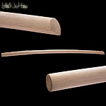 Itto Ryu Bokken - Red Oak