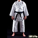 Karate Gi Shuto Okinawa | Heavyweight Karate uniform white