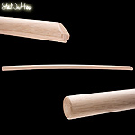 Katori Shinto Ryu Bokken - Red Oak