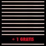 PACK 10+1 GRATIS | Jo 25 mm Beech wood | Handmande Aikido Jo
