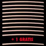 SET 10+1 GRATIS | Bokken Daito 105 cm - Legno di Faggio