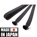 Kakucho sageo black 180 cm | Made in Japan