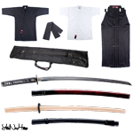 Iaido Set Master | Iaido Gi + Hakama + lightweight Iaito set