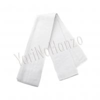 Kaku Obi white extra wide | Iaido obi | Iaido belt
