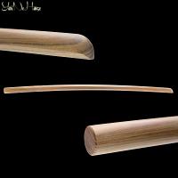 Bokken Daito 113 cm Lignum Vitae | Ironwood Bokuto Daito | Handmade Bokken