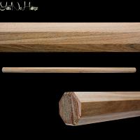 Hakkaku Hanbo Lignum Vitae | Ironwood octagonal Hanbo | Handmade Hanbo