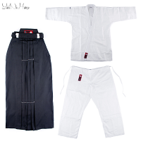 Aikido uniforms Set Basic | Aikido Gi + Hakama set