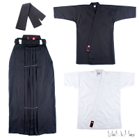 Iaido Set Beginner | Iaido Gi Hakama Set