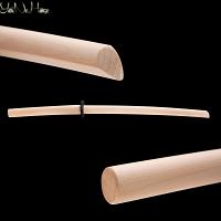 Togakure Ryu Ninja To Bokken Beech wood | Bokuto Ninja To | Handmade Ninja Bokken