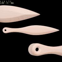 Kunai Beech wood | Handmade wooden Kunai