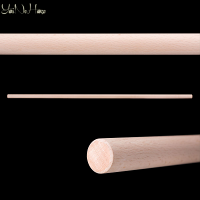 Jo 25 mm Beech wood | Aikido Jo staff | Handmade wooden jo