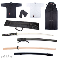 Performance Iaido Set | Iaido Gi + Hakama + lightweight Iaito set