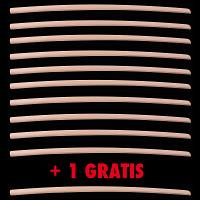 PACK 10+1 GRATIS | Bokken Daito 105 cm Beech wood | Handmade Bokuto