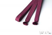 Kakucho sageo purple 180 cm | Made in Japan