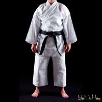 Karate Gi Shuto Okinawa | Heavyweight Karate uniform white