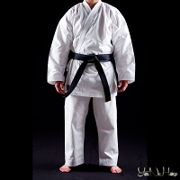 Karate Gi Shuto Training | Middleweight Karate uniform white