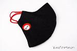 YariNoHanzo HEMP Mask Black