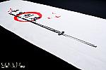 Tenugui per Kendo | Tomodachi | Colore bianco