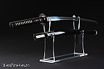 Luxury Katana Kake in plexiglass | Table stand for two Katana | Top quality Katana display stand