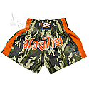 "PANTALONCINO SK MUAY THAI ""CAMOUFLAGE"" IN SATIN"